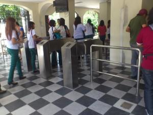 University Turnstile Access System