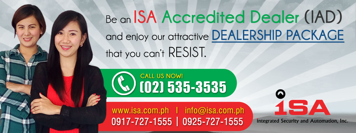 ISA Dealership banner